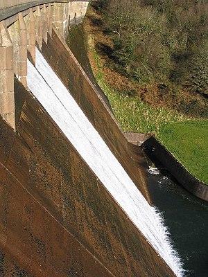 River Tone - Clatworthy Dam