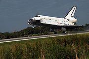 STS-122 landing