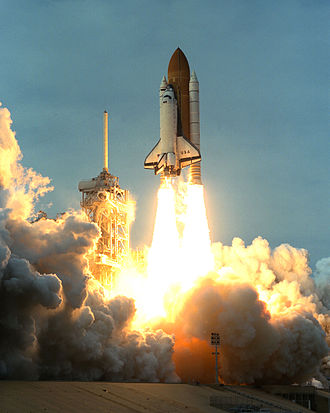 STS-87 - Columbia launches on STS-87