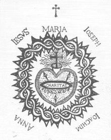 Scapular Of The Sacred Heart Wikipedia
