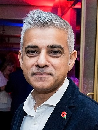 London mayoral election, 2016 - Image: Sadiq Khan November 2016