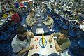 Sailors relax aboard USS Boxer. (9095476626).jpg