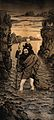 Saint Christopher. Lithograph. Wellcome V0033444.jpg