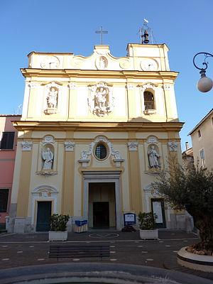 Curti, Campania - Church of St. Michael.