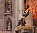 Saint Peter's Statue Saint Peter's Basilica Vatican City cropped.jpg
