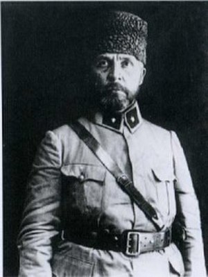 "Nureddin Pasha - Major general ""Sakallı"" Nureddin Pasha"