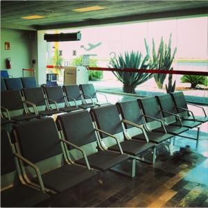 General Lucio Blanco International Airport - Image: Sala de abordaje