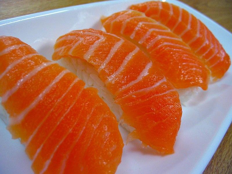 File:Salmon nigiri.jpg