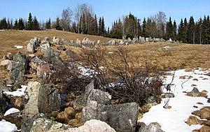 Salla - Image: Salpalinja aholanvaara 1