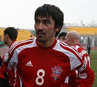 Samat Smakov Kazakhstani footballer