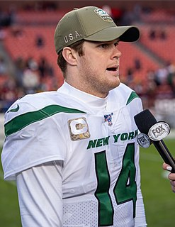 Sam Darnold American football quarterback
