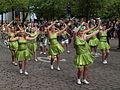 Samba dancers from Sambic at Helsinki Samba Carnaval 2015.jpg