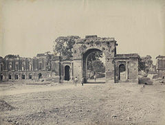 Samuel Bourne -The Bailey Guard Gate, Lucknow.jpg