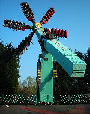 Samurai (ride) - Image: Samurai Thorpe Park