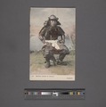 Samurai warrior in armour (NYPL Hades-2360271-4044070).tiff