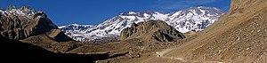 Marmolejo - San José volcanic complex. FLTR: Marmolejo, La Engorda and San José.