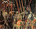 San Romano Battle (Paolo Uccello, Paris) 02.jpg