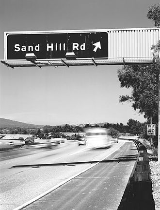 History of private equity and venture capital - Sand Hill Road in Menlo Park, California, where many Bay Area venture capital firms are based