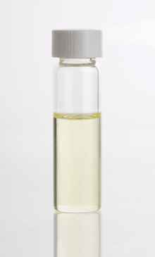 A phial of Mysore Sandalwood Oil