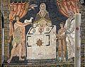 Sant'apollinare in classe, mosaici del catino, sacrifici di abele, melchidesech e abramo, 650-700 ca. 03.jpg