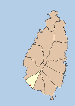 The Quarter of Choiseul, in Saint Lucia