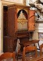 Santissima annunziata, cappella dei pittori, organo di Tommaso Fabbri da Faenza (1702).jpg