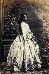 Sara Forbes Bonetta photographed by Camille Silvy, Great Britain, 1862