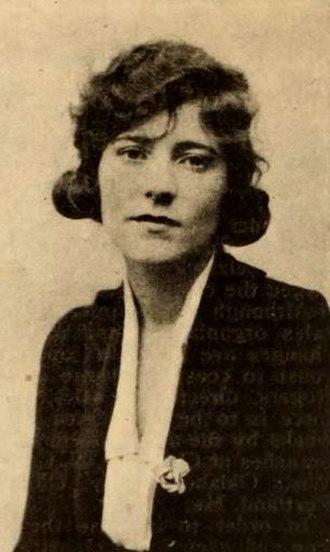 Sarah Y. Mason - From a 1920 magazine