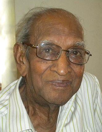 Satish Chandra (historian) - Chandra in 2016
