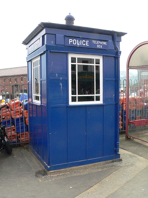 Scarborough Police Box (Large)