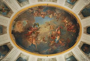 Nicolas Guibal - Ceiling painting from Castle Solitude, 1766