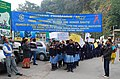 School children from eight Schools of Gangtok, participated in World Aids Day procession organised by ASHI, Sikkim on December 01, 2009.jpg