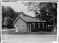 Schoolhouse and Post Office, Bedford Green, Bedford, Westchester County, NY HABS NY,60-BED,1-2.tif