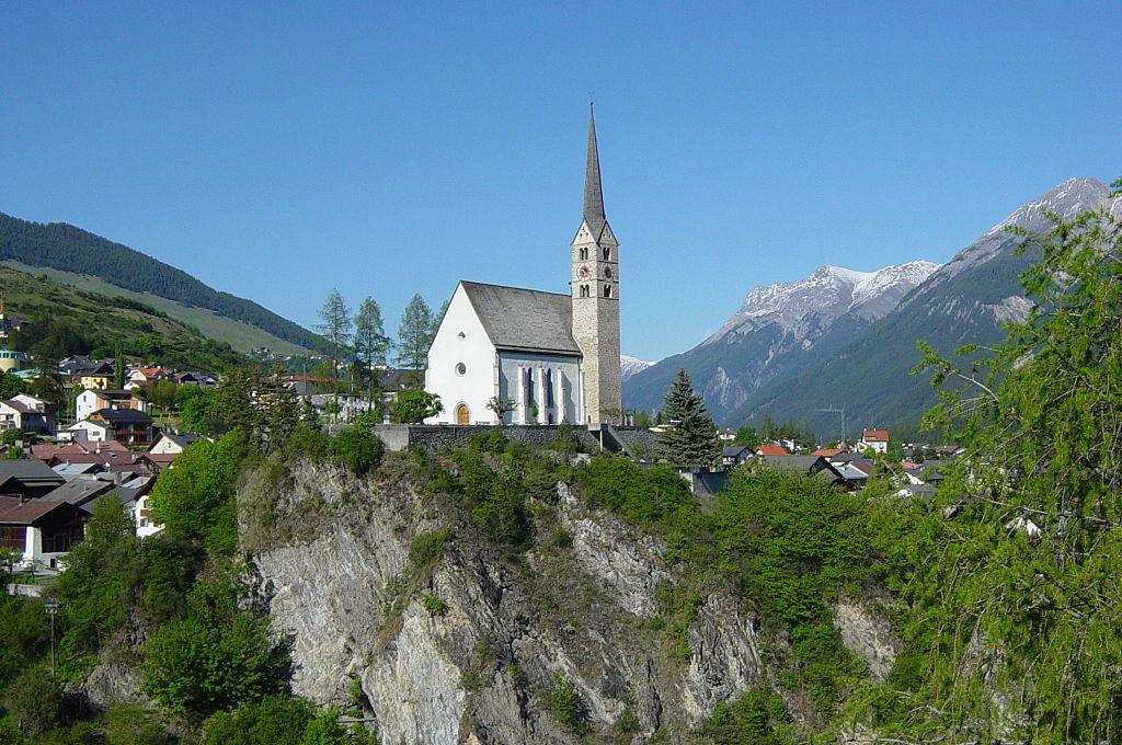 Церковь Скуоль, Швейцария