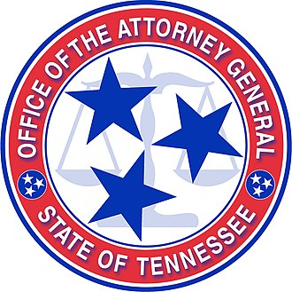 Tennessee Attorney General - Seal of the Attorney General of Tennessee