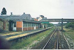 Southern Railway Seaton Station Buildings Plan