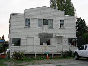 Freedom Socialist Party - Freeway Hall in Seattle's Northlake neighborhood was for many years the FSP headquarters.