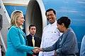 Secretary Clinton Arrives in Rangoon (6437376227).jpg
