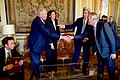 Secretary Kerry Introduces Under Secretary Shannon to French Foreign Minister Ayrault During First Meeting at Quai d'Orsay in Paris (25447480200).jpg