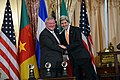 Secretary Kerry Shakes Hands With CEO Medlin of Fruit of the Loom, Inc. (12208233746).jpg