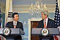 Secretary Kerry and Korean Foreign Minister Yun Byung-se Address Reporters (11825379636).jpg