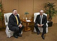 Secretary Pompeo Meets With Israeli Prime Minister Benjamin Netanyahu (45642815635).jpg