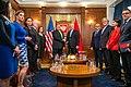 Secretary Pompeo Participates in a Bilat with PM Dusko Markovic and FM Srdjan Darmanovic (48841195246).jpg