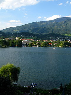 Seeboden Place in Carinthia, Austria