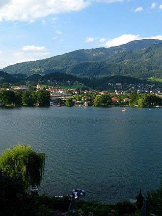Seeboden - View from Millstätter See