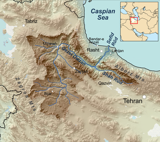 River in Iran