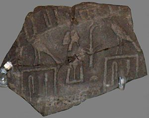 Seth-Peribsen - Seal impression of king Sekhemib from Abydos