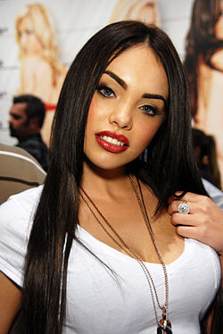 Selena Rose à l'AVN Adult Entertainment Expo en janvier 2011