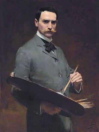 Solomon Joseph Solomon - Self-portrait, ca. 1896