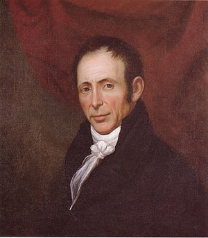 Charles Peale Polk - Self-Portrait, oil on fabric of between 1816 and 1820, in the collection of the Virginia Historical Society in Richmond, Virginia
